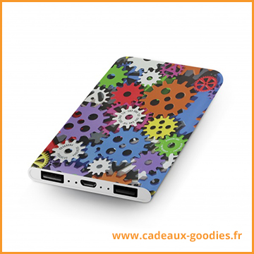 Goodies Cadeau publicitaire design batterie
